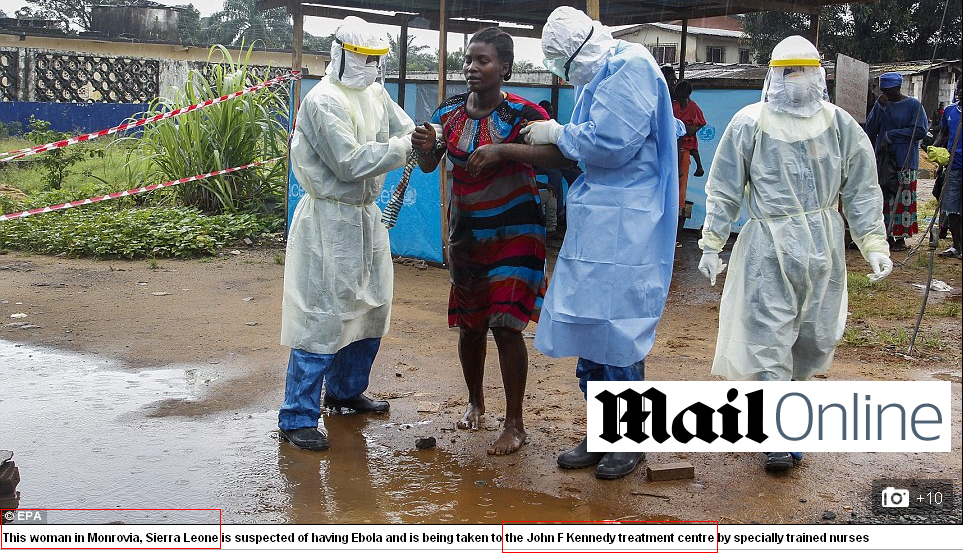 FINAL NAILS IN THE EBOLA SCAM COFFIN: The 2014 Ebola Outbreak is a PROVEN FRAUD, Here is the Evidence.  Daily-mail-fail-11