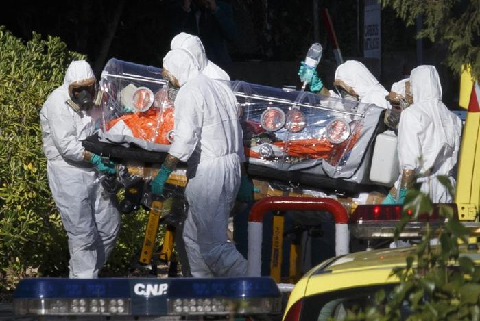 FINAL NAILS IN THE EBOLA SCAM COFFIN: The 2014 Ebola Outbreak is a PROVEN FRAUD, Here is the Evidence.  Ebola-spain-1