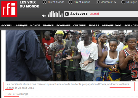 rfi, fail, ebola, fraud, sierra leone, liberia, jfk medical center, monrovia