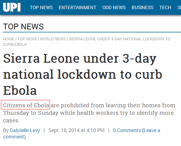 FINAL NAILS IN THE EBOLA SCAM COFFIN: The 2014 Ebola Outbreak is a PROVEN FRAUD, Here is the Evidence.  Upi-fail-2