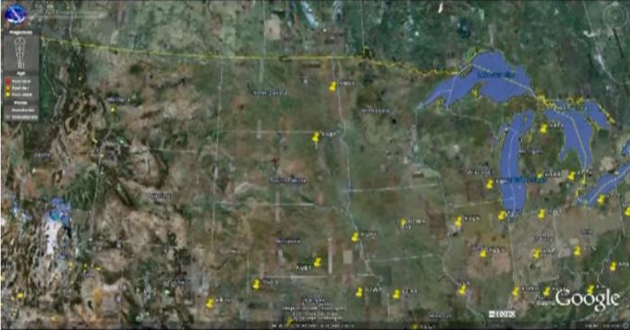 nexrad, doppler, radars, eastern us